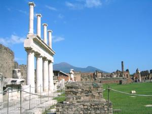 イタリア石造りの遺跡